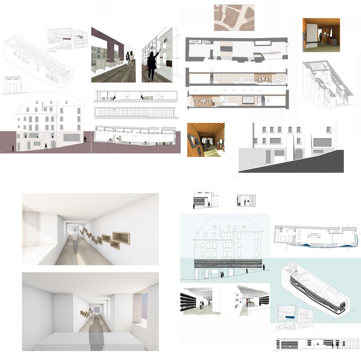 la maison du livre ih id es house cole d 39 architecture d 39 int rieur et d 39 architecture et de design. Black Bedroom Furniture Sets. Home Design Ideas