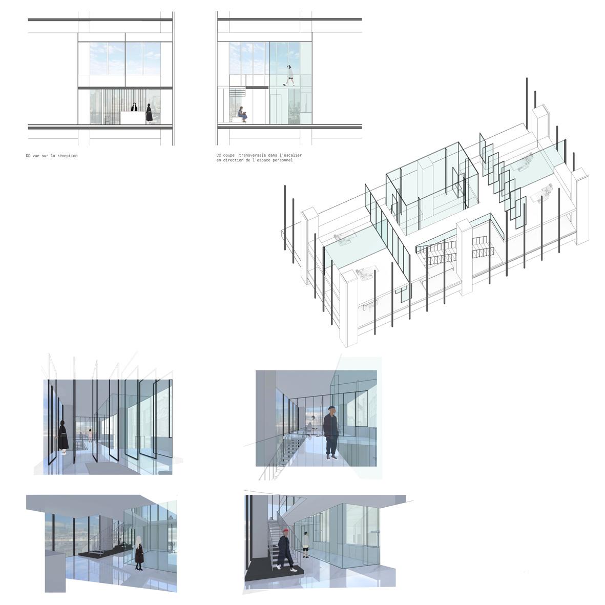 Un cabinet dentaire 01 ih id es house cole d for Architecture et design d interieur