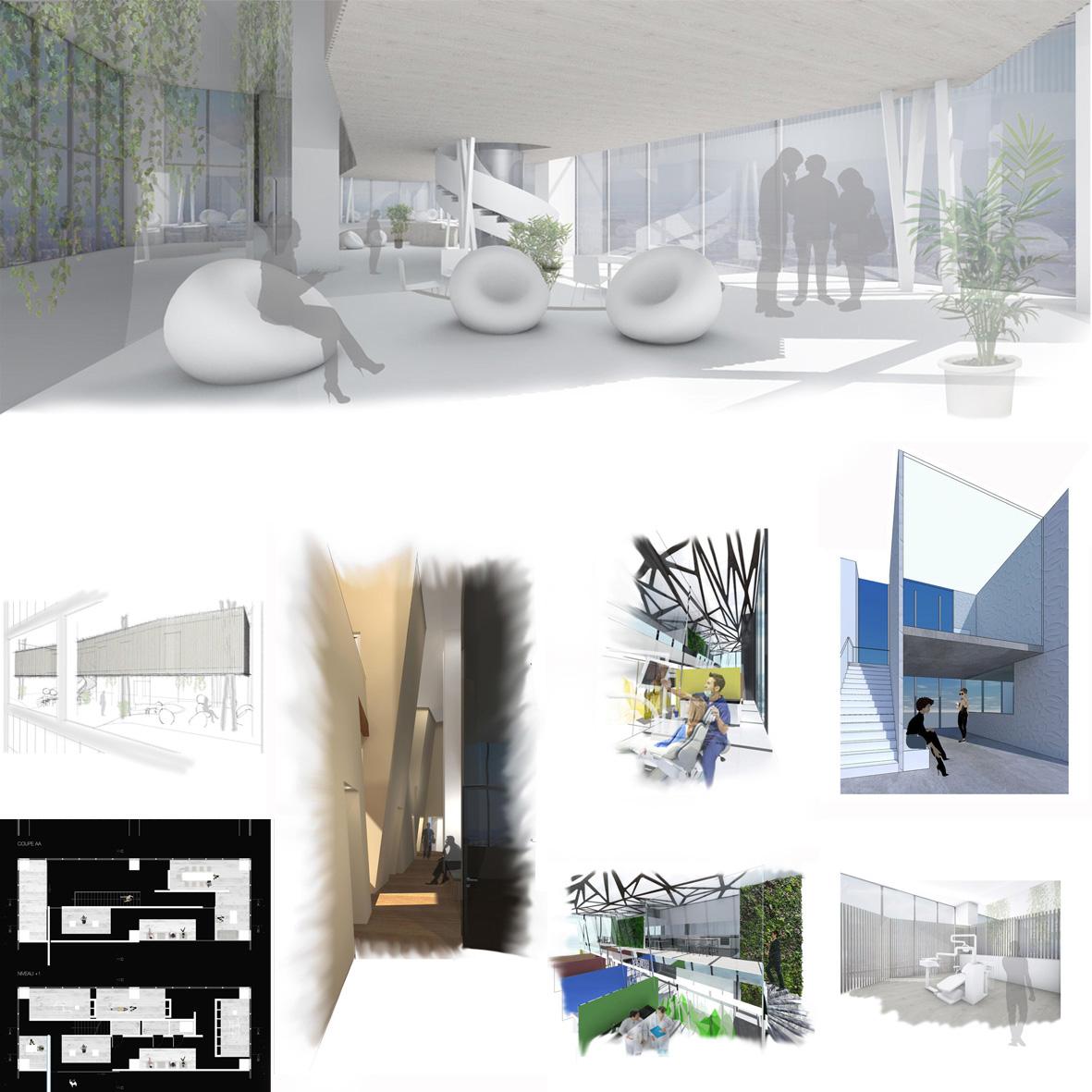 Un Cabinet Dentaire 02 Ecole D Architecture D Interieur Et
